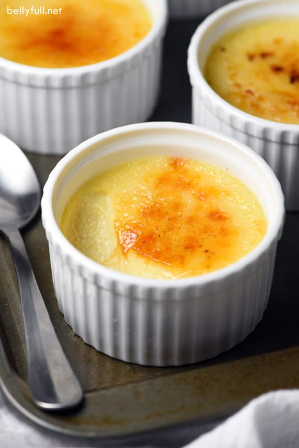 This Slow Cooker Creme Brûlée is everyone's favorite rich and creamy dessert, but made in the crock pot instead of the oven!