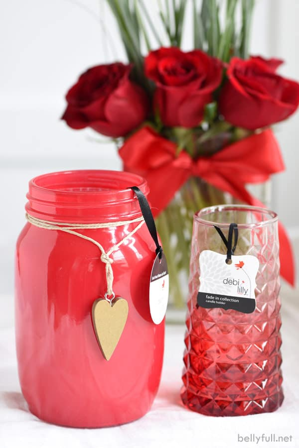 flowers and vases for valentine's day