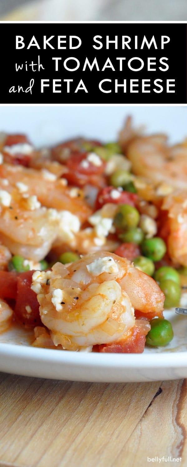 Baked Shrimp with Tomatoes and Feta