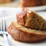 This Simple Cinnamon Cake is light and wonderful. Perfect for the cinnamon lover on a Sunday brunch, Easter, or Passover!