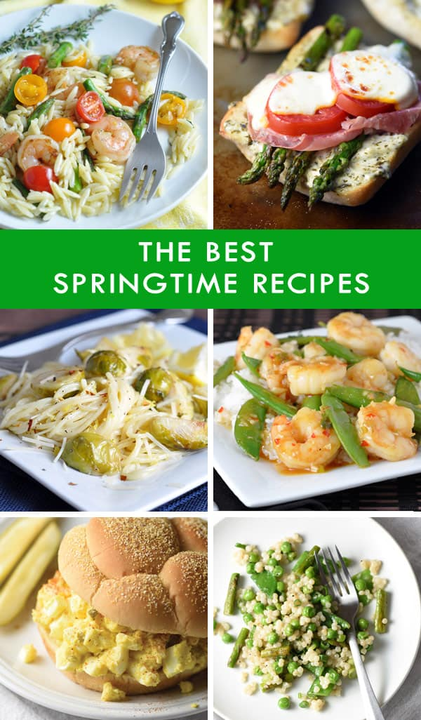 The Best Springtime Recipes!