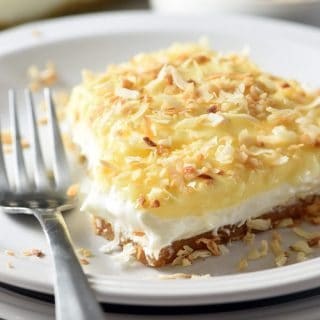 No-Bake Coconut Cream Lush Dessert
