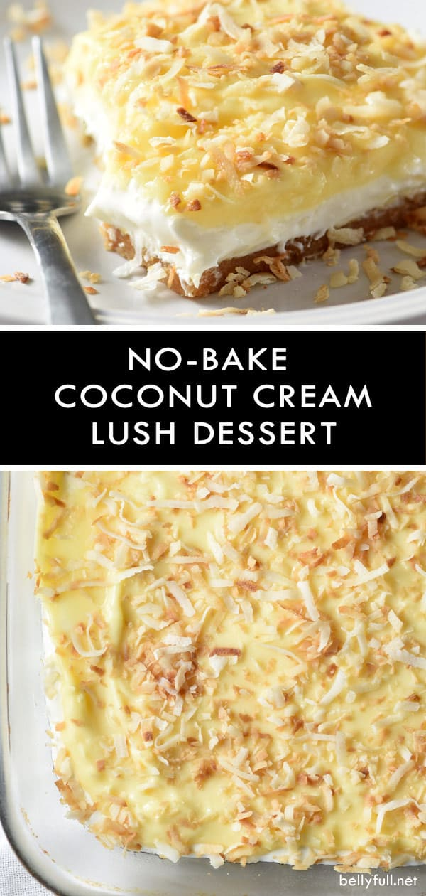 Coconut Cream Lush Dessert