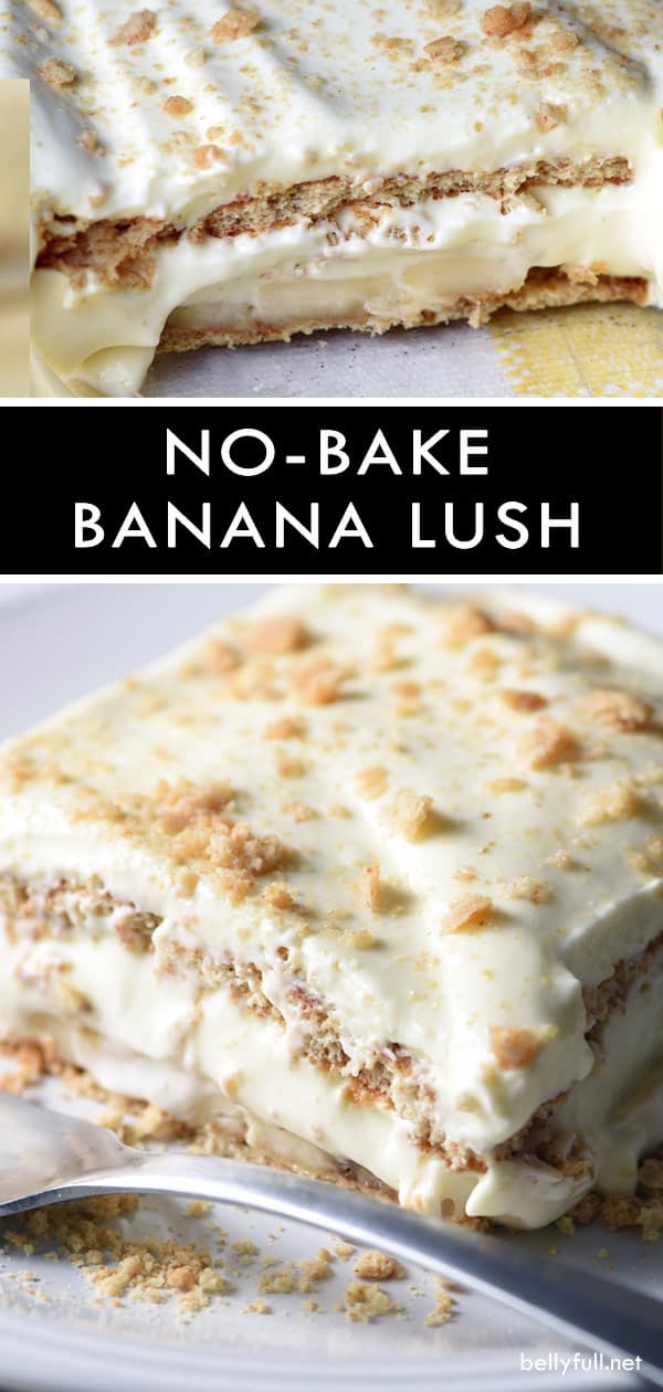 No-Bake Banana Cream Lush Dessert