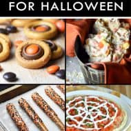 Easy Treats for Halloween! #halloween #desserts #easy #recipes #nobake