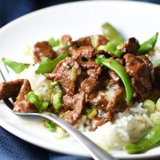 Stir-Fry Beef with Snow Peas