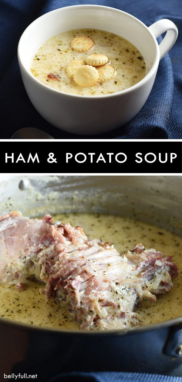 picture of ham and potato soup