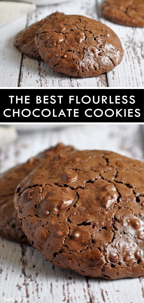 picture of flourless chocolate cookie