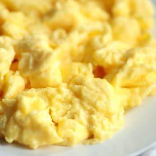 High Protein Scrambled Eggs