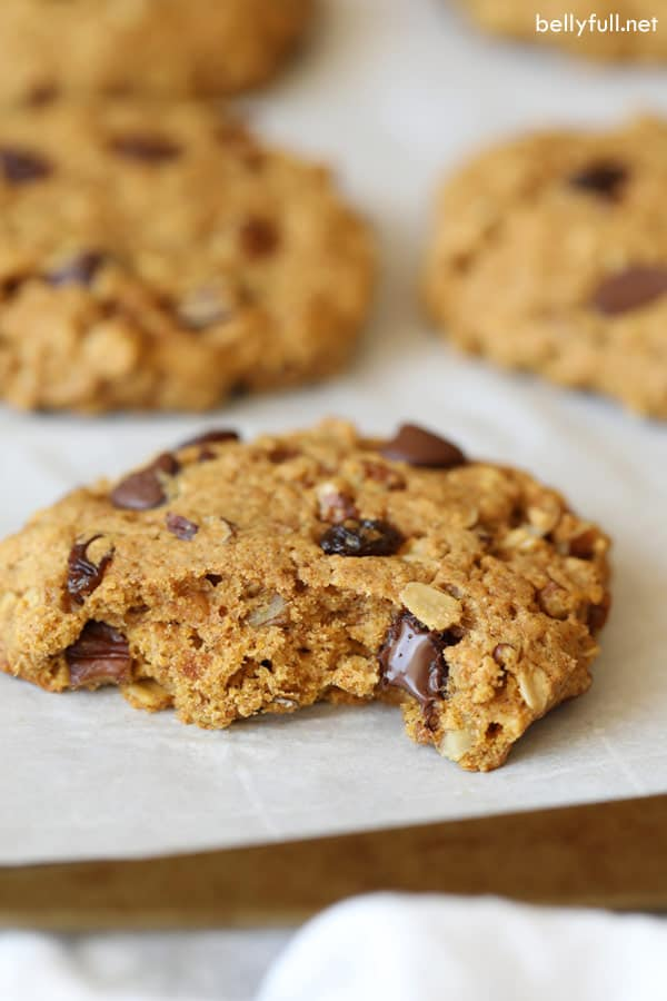 Breakfast Cookies with a bite
