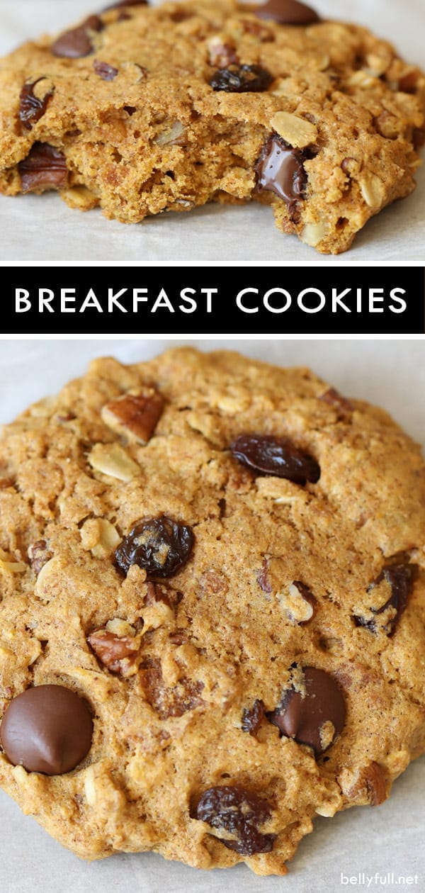 pin for Homemade Breakfast Cookies