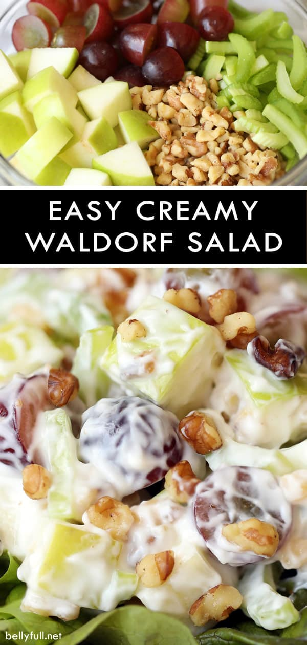 Creamy Waldorf Salad recipe