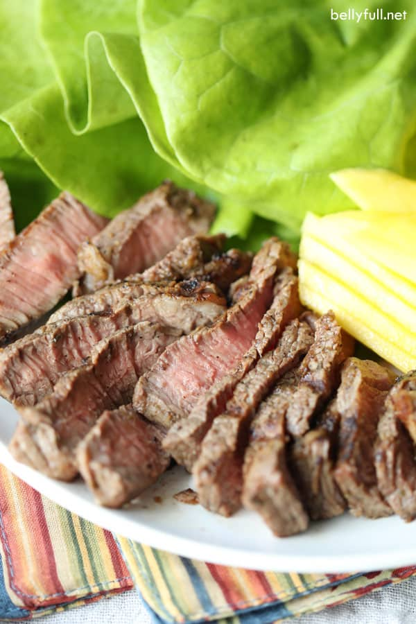 Grilled Jerk Steak