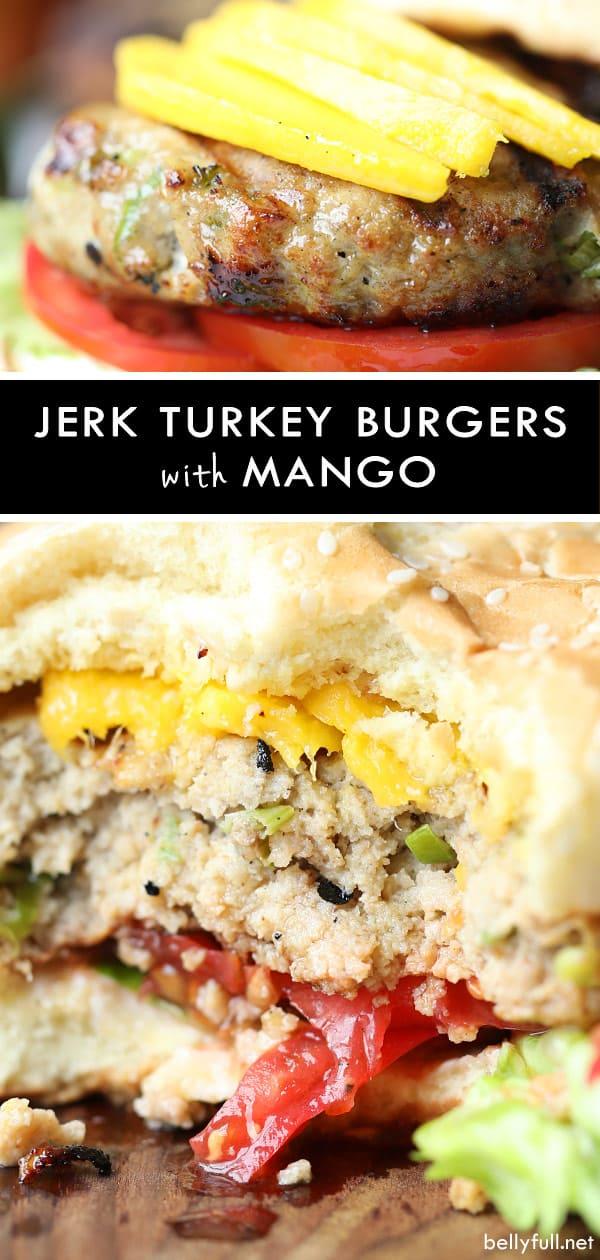 Grilled JerkTurkey Burgers