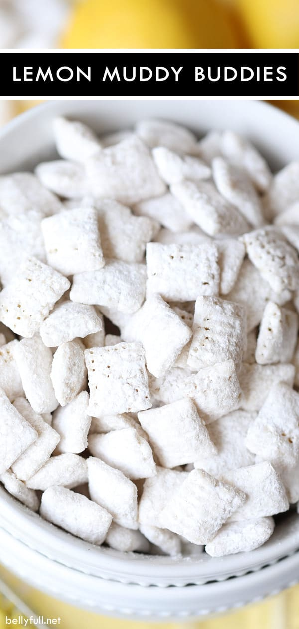 15-minute Lemon Muddy Buddies