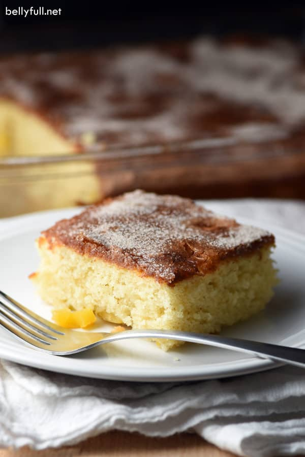 Mango Coffee Cake slice