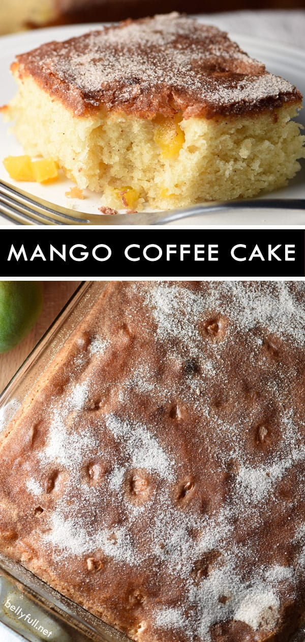 Coffee Cake with Mango