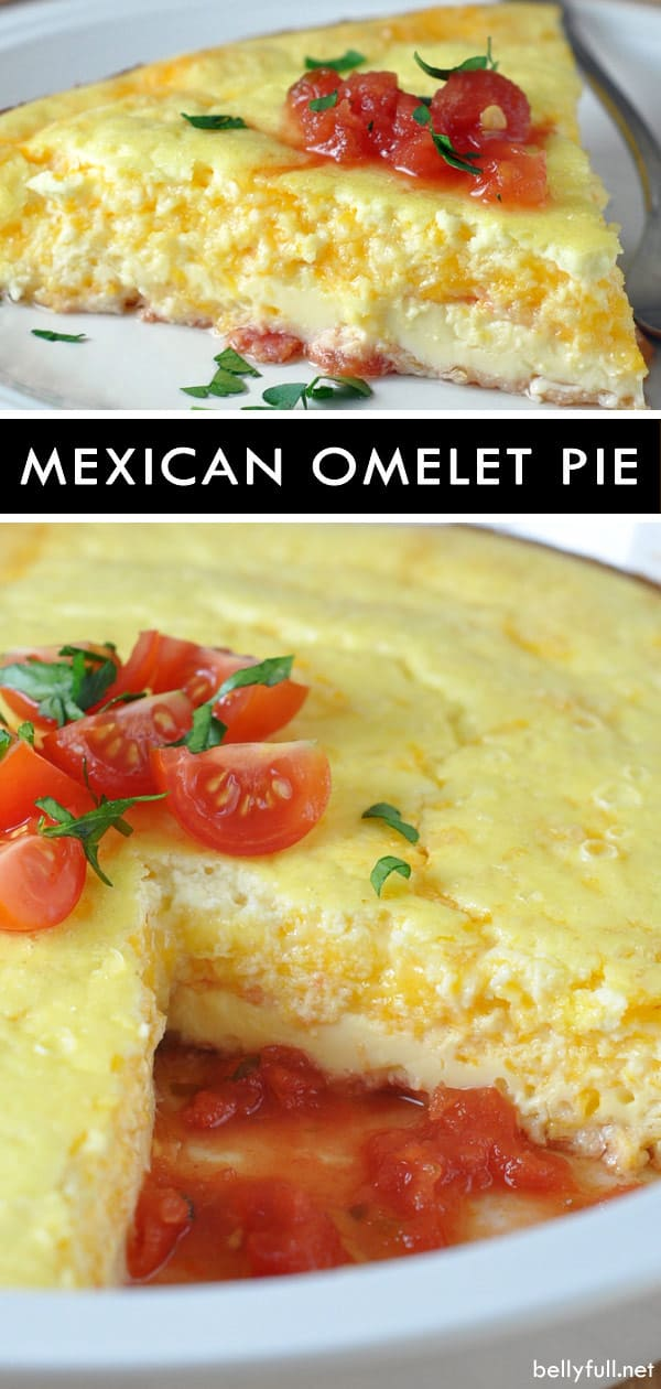 Mexican Omelet Pie