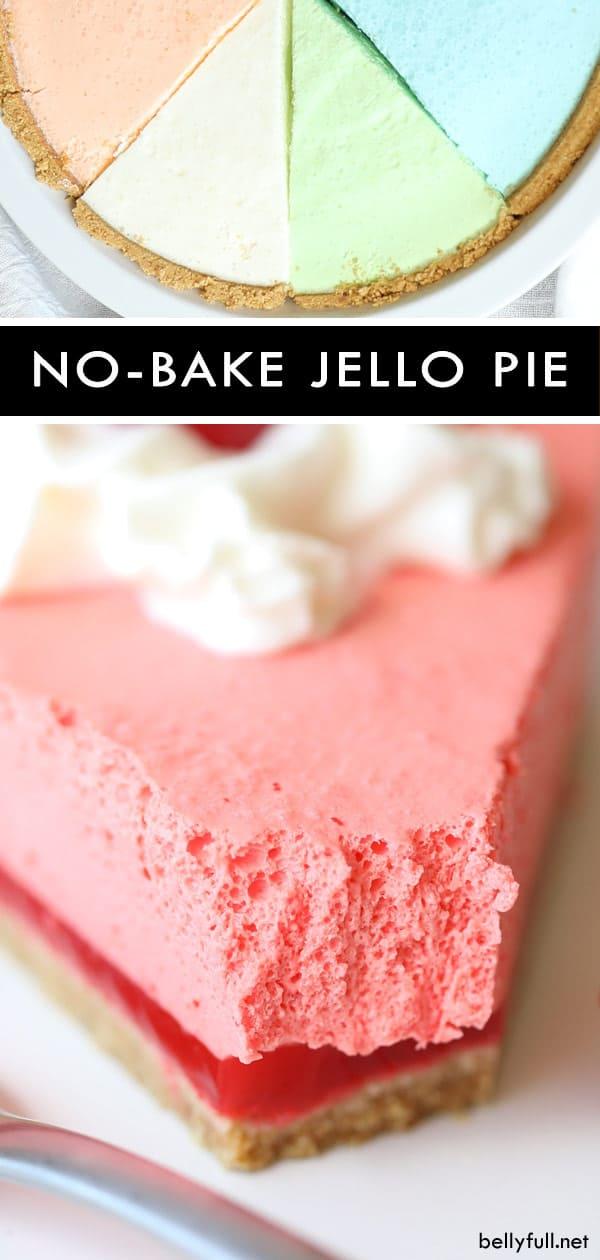 Homemade No-Bake Jello Pie