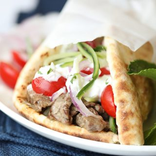 Cheater Beef Gyros