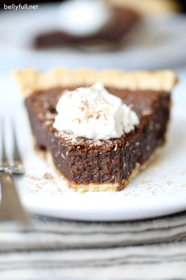 Easy Chocolate Pie interior