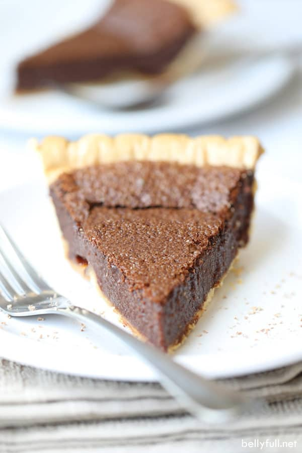 Chocolate Pie slice
