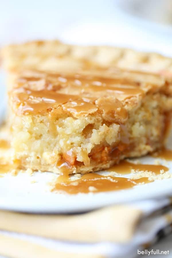 Macadamia Nut Butterscotch Pie