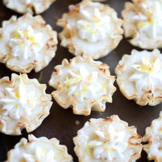 Easy Mini Lemon Tarts