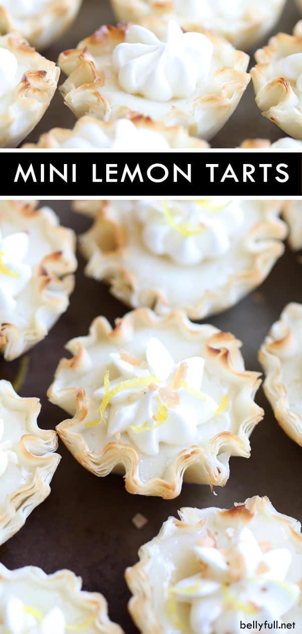 Easy Mini Lemon Tarts