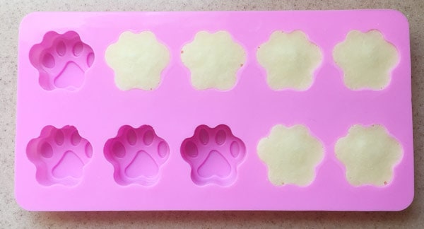 Silicone Dog Paw Molds