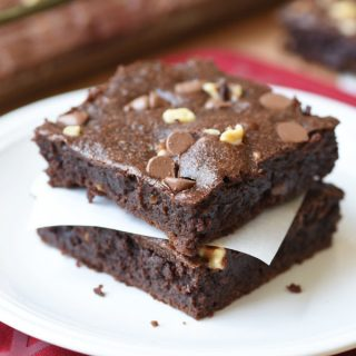 (From Scratch) One-Bowl Fudgy Brownies