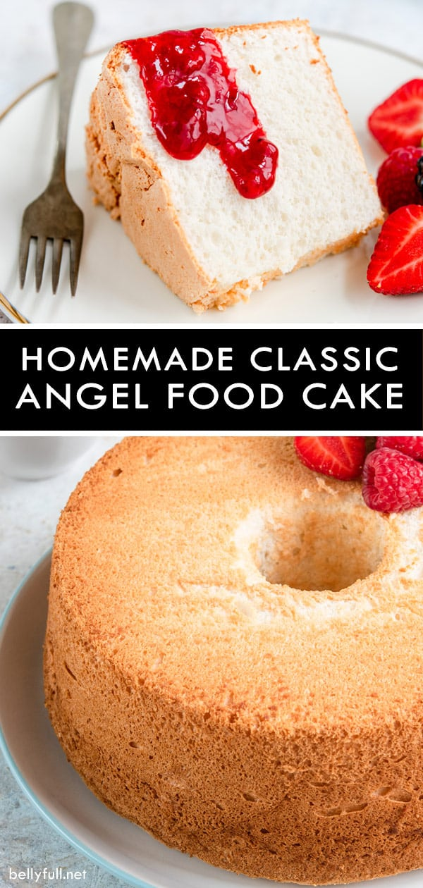 HomemadeClassic Angel Food Cake