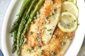 Easy Fish Piccata