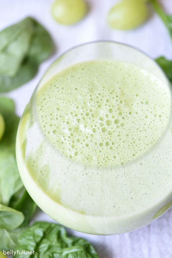 Green Power Smoothie in glass