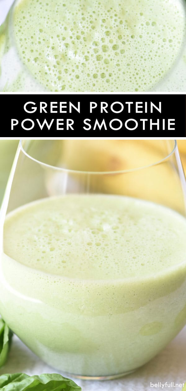 Green Protein Power Smoothie