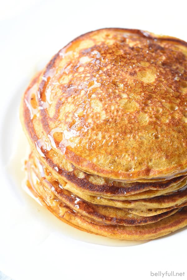 Pumpkin Pancakes - Belly Full