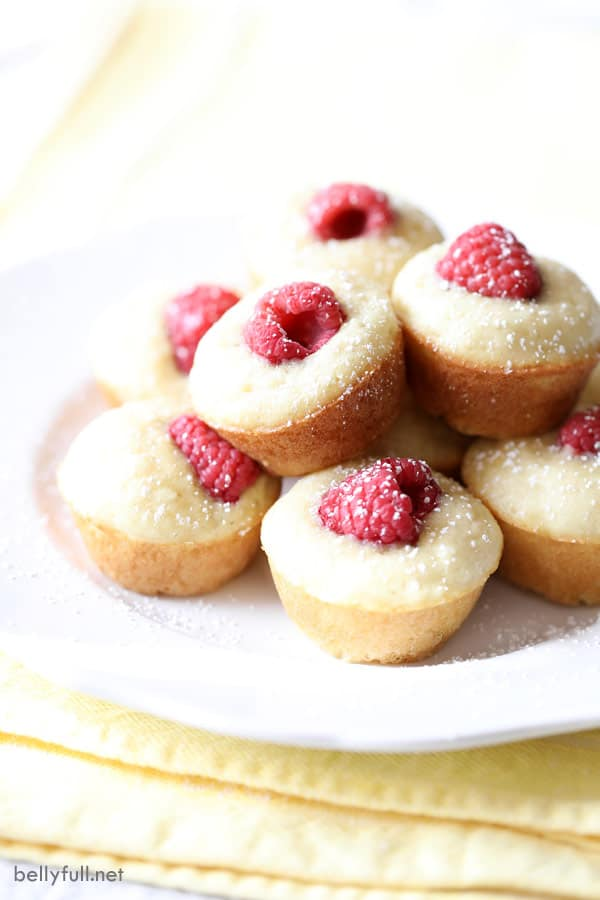 stacked Mini Pancake Muffins