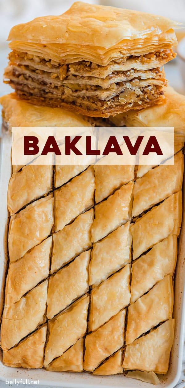 pin for Baklava recipe