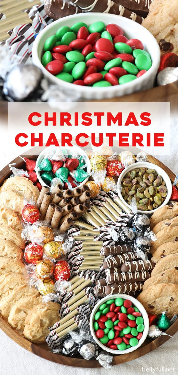 pin Christmas Chocolate Charcuterie Board