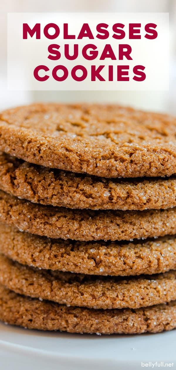 pin Molasses Cookies