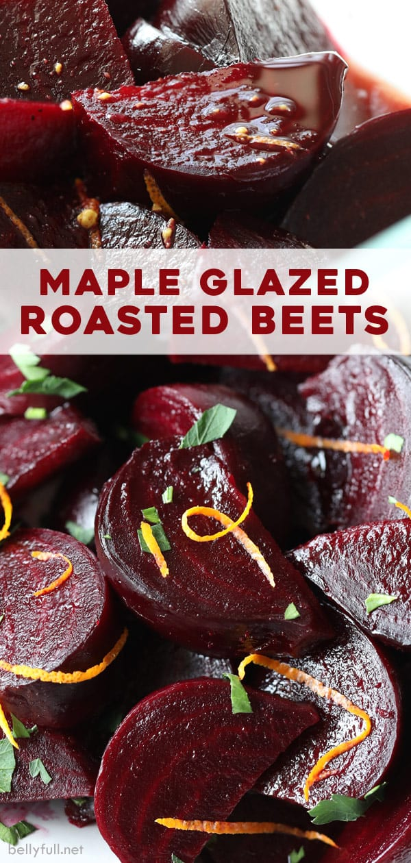 pin for Maple Glazed Roasted Beets
