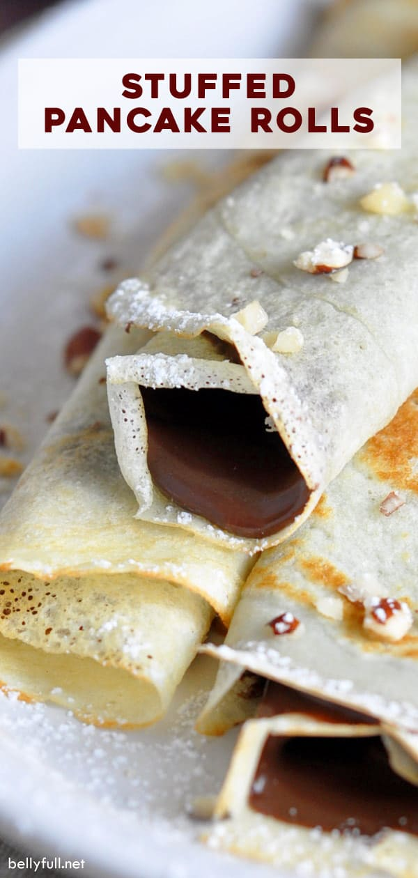 pin for stuffed pancake rolls