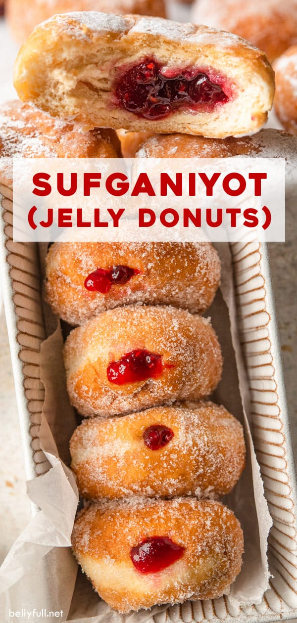 pin for Sufganiyot (Jelly Donuts)
