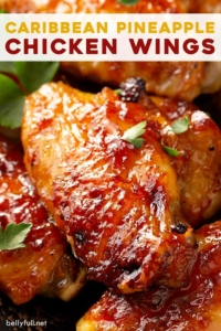 pin for Caribbean Pineapple Chicken Wings