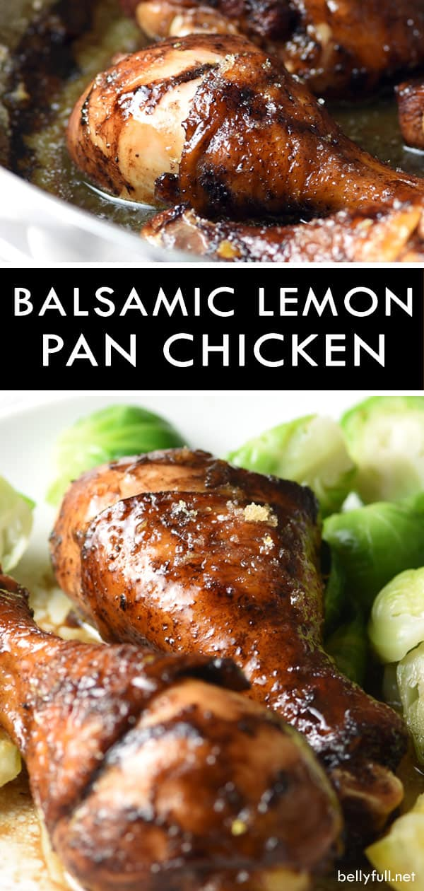 pin for Balsamic Lemon Chicken