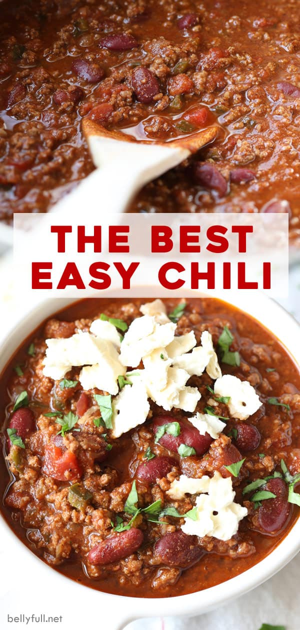 pin for best easy chili