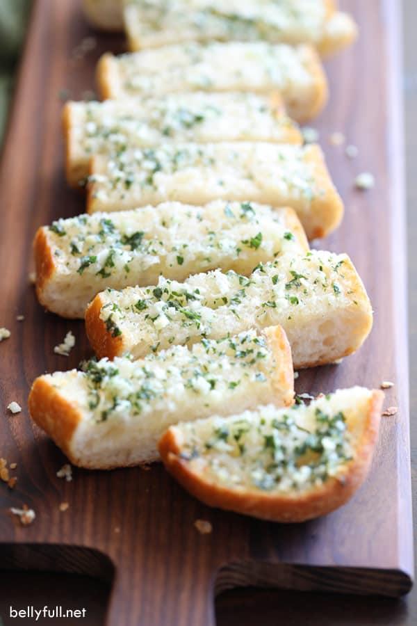 The Best Garlic Bread Recipe Belly Full