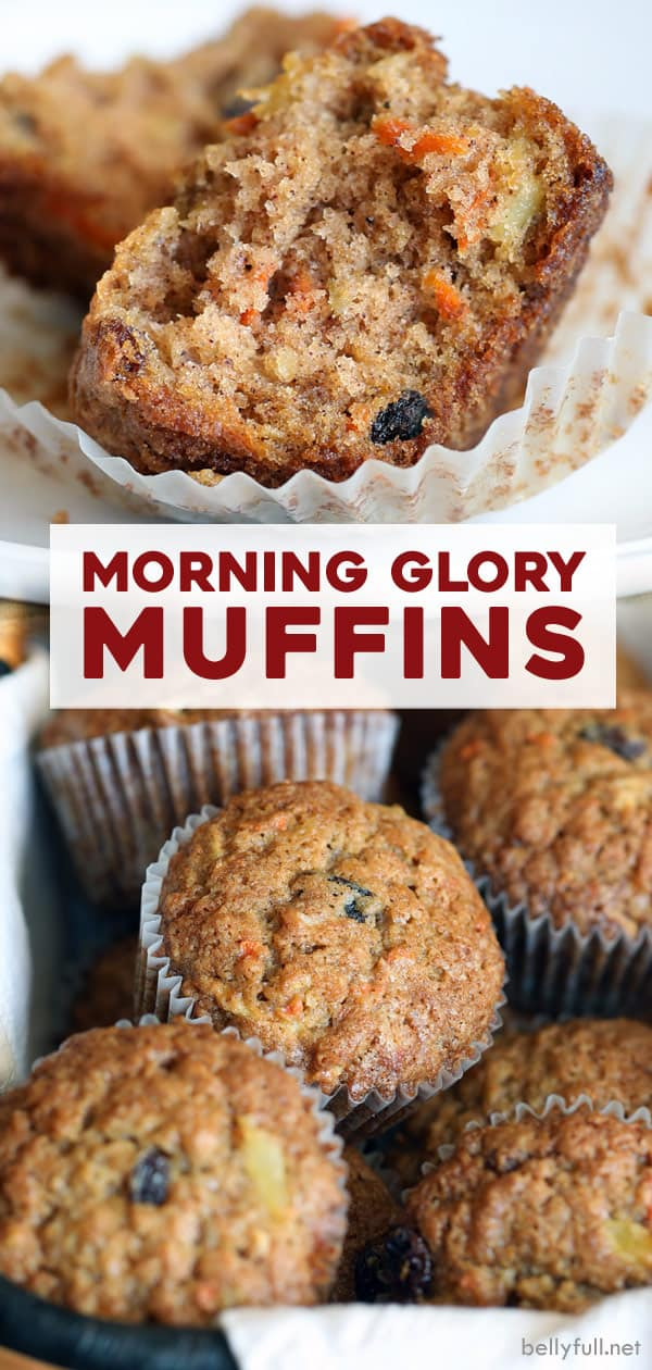long pin for Morning Glory Muffins