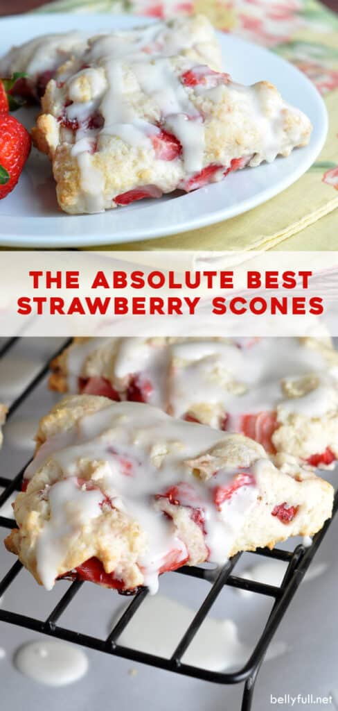 2 picture pin for strawberry scones