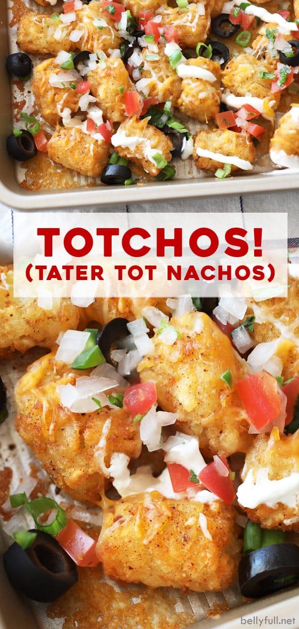 long pin for Totchos Tater Tot Nachos